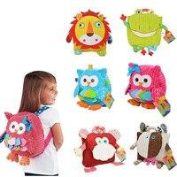 Children Bags Kid Lovely Schoolbag Kindergarten Cartoon Plush Backpack Stuffed Animal Shape Backpack
