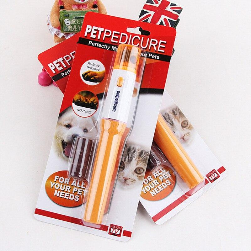 200PCSHot Pet Pedicure Electric Claw Device Pet Grinder Pedi PAWS Animal Manicure Device