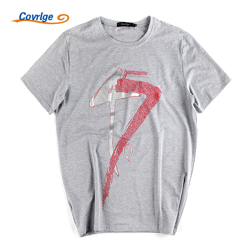 Covrlge man's T-shirt 2017 sSummer New O-neck Tshirt Fashion Print Short Sleeve T-shirt Men Cotton Adventure Time Jersey MTS369