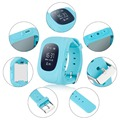 Anti Lost Q50 OLED Child GPS Tracker SOS Smart Monitoring Positioning Phone Kids GPS Watch Compatible with IOS & Android