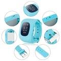Anti Perdido Q50 OLED Criança Telefone Crianças GPS Assistir SOS Rastreador GPS de Monitoramento de Posicionamento Inteligente Compatível com IOS & Android