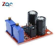 2pcs NE555 импульсная Частота Рабочий цикл регулируемый модуль генератор сигналов квадратной волны шаговый двигатель драйвер светодиодный индикатор модуль