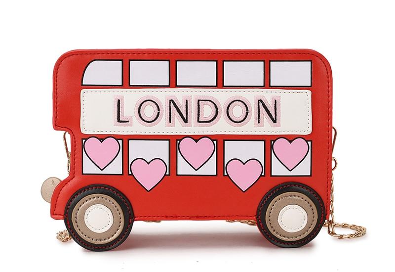 Bolsa Divertida Ônibus Londres
