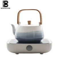 220V Creative Chinese Kung Fu Tea Set Accessories Electric Ceramic Heaters Tea Stove Ceramic Teapot Coffee Kettle Holder Teaware