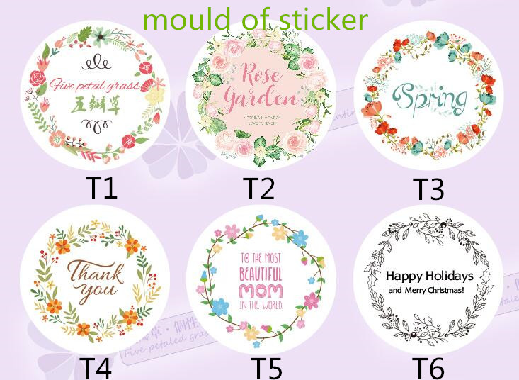 100pcs Personalized Wedding Stickers Custom Candy Stickers