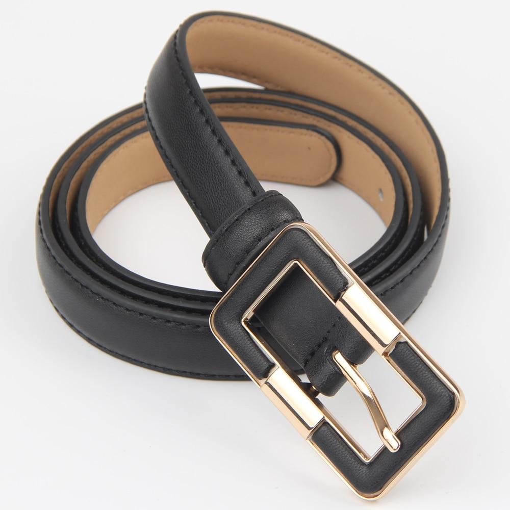 Luxury women belts cow genuine Pin Buckle Belt Women Cow Genuine Leather Belts Solid Casual Strap female fashion belt