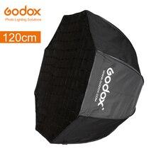 """Godox Bewegliche 120 cm 47 """"Octagon Schirm softbox mit Wabengitter Foto Reflektor Honeycomb Softbox für Flash blitzgerät"""