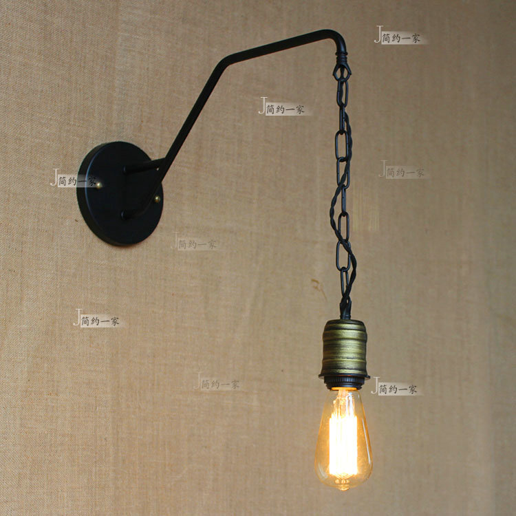 Lamps & Shades Wall Lamps Professional Sale New Replica Designer Adjustable Antique Modern Industrial/long Swing Arm Wall Lamp Lights For Bathroom Vanity/sconce Fixture Reliable Performance