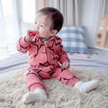 DLY025 Free Shipping 2017 New Arrival Baby Romper Warm Infant Clothes Top Quality Newborn Baby Suit Retail