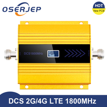 Amplificador de señal de teléfono móvil, Amplificador de señal de teléfono móvil, Lte, PCB, 4g, 1800 MHZ, LCD, GSM, 2g, 4g, DCS 1800