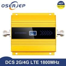 새로운 PCB 4g Lte 1800 MHZ 부스터 LCD GSM Amplificador GSM 2g 4g 부스터 DCS 1800 부스터 휴대 전화 신호 증폭기 리피터