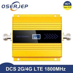 Image 1 - Yeni PCB 4g Lte 1800 MHZ güçlendirici LCD GSM Amplificador GSM 2g 4g güçlendirici DCS 1800 güçlendirici cep telefonu sinyal amplifikatörü tekrarlayıcı
