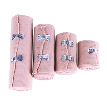 1 rolo de alta bandagem elástica ferida vestir esportes ao ar livre entorse tratamento bandagem para kits de primeiros socorros acessórios