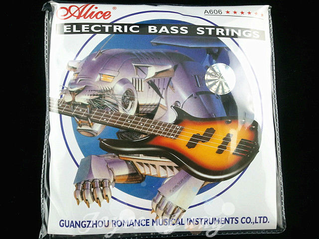 все цены на  Alice 5 Strings Electric Bass Strings 1st-5th Nickel Alloy Wound Strings 045-130 in. Free Shipping Wholesales  онлайн