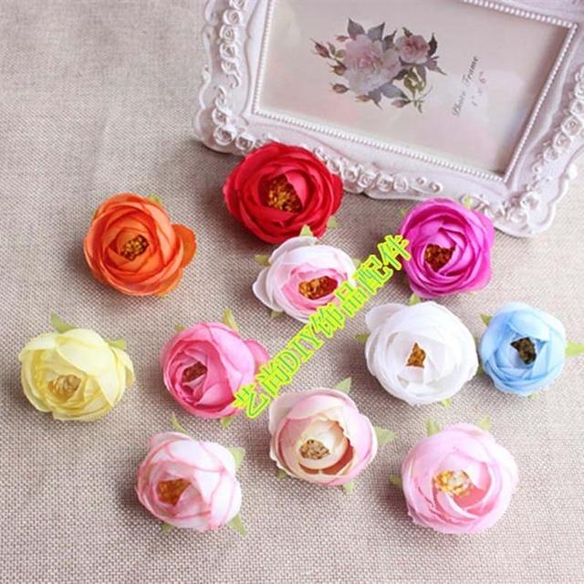 Aliexpress buy 4cm head25pcs small silk rose buds artificial 4cm head25pcs small silk rose buds artificial fake flowers headsdiy for wedding mightylinksfo Image collections