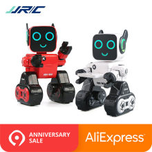 In Stock JJRC R4 RC Robot Intelligent Toys Cady Wile Gesture Remotol Control Action Figure Smart Robots Interactive Toy VS R2 R3(China)