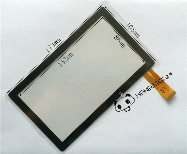 New 7'' inch Digitizer Touch Screen Panel glass For Wexler TAB 7000B Tablet PC original new 10 1 inch touch panel for acer iconia tab a200 tablet pc touch screen digitizer glass panel free shipping