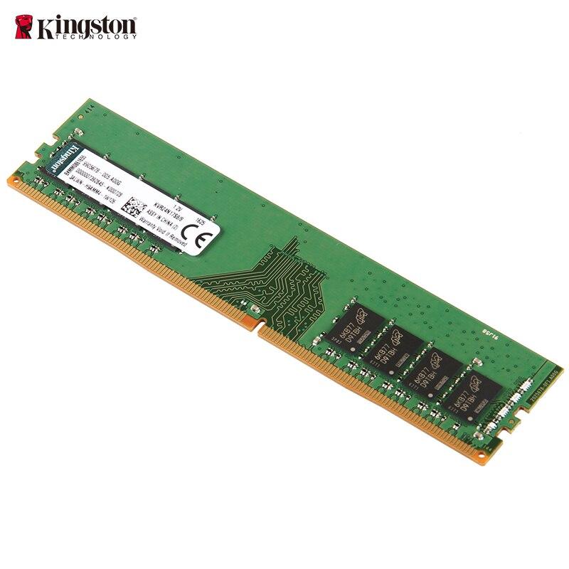 Kingston ordinateur de bureau de mémoire DDR4 2400 MHz 4 GB 8 GB PC RAM Non-ECC CL17 1.2 V Unbuffered DIMM