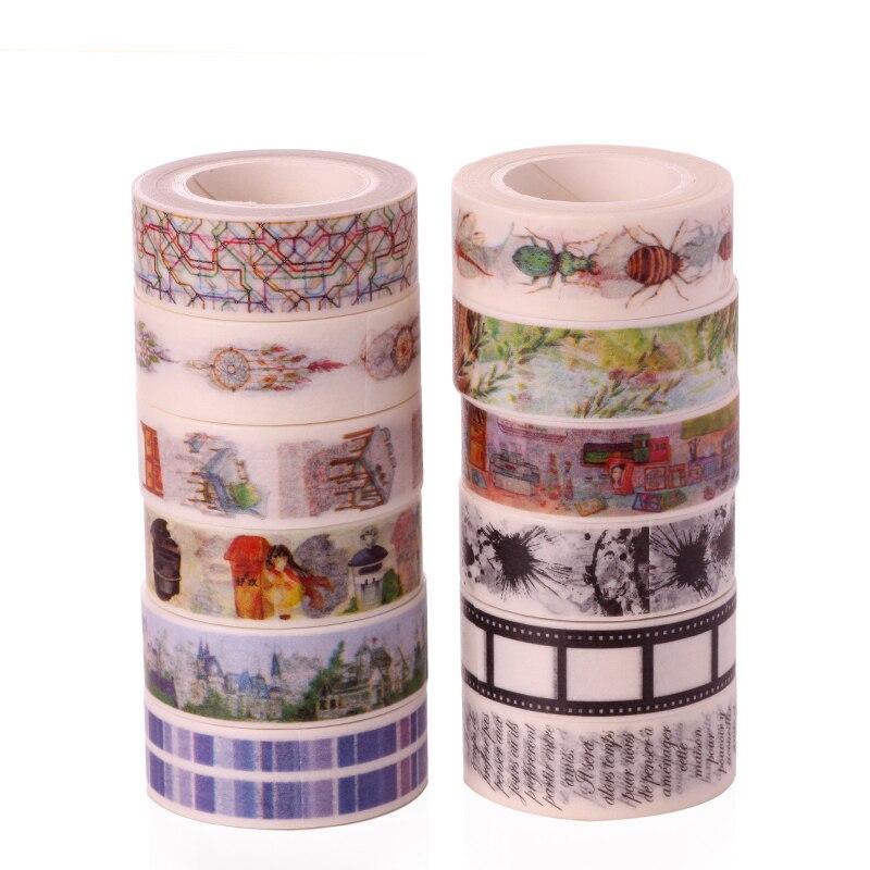 2016 New patterns cartoon doraemon cat printed decoration paper tape