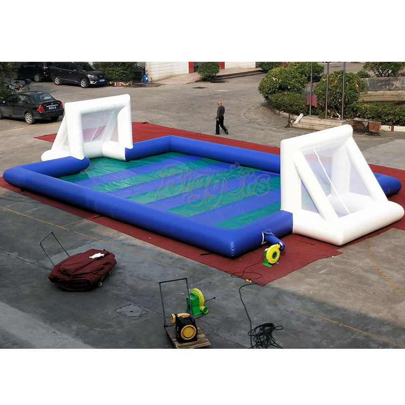 New inflatable soccer field Arena sports field soapy stadium with low price