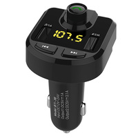 Bluetooth Car Kit Music Player FM Transmitter Modulator 4 1A Dual USB Car Charger Support TF