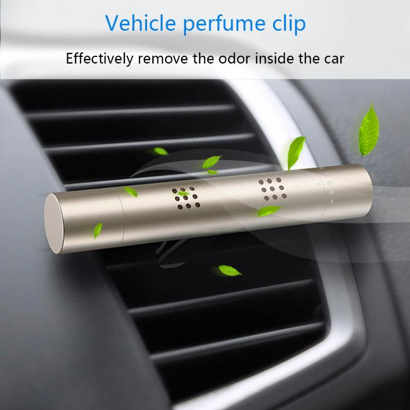 Mini Air Purifier Air Freshener 12V Auto Car Fresh Air Ionic Purifier Oxygen Bar Ozone Ionizer Cleaner Car Styling Accessory New car outlet perfume air freshener with thermometer lime