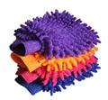 5 pcs de luvas chenille Dupla face limpar luvas de limpeza pano de lavagem de lavagem do carro luva de lavagem de carro suprimentos pano de limpeza luva