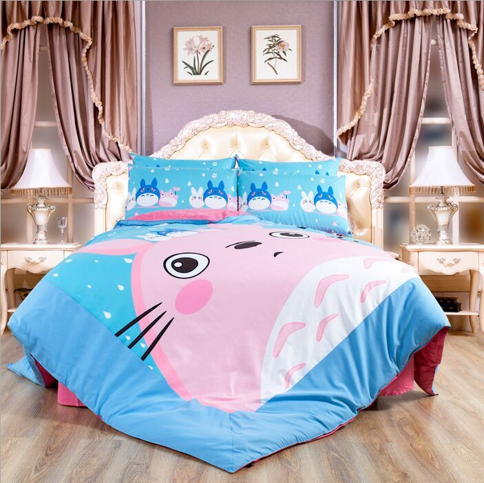 Totoro Bed Set: Popular Totoro Bed Set-Buy Cheap Totoro Bed Set Lots From