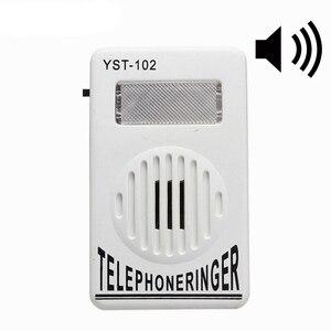 Image 1 - 95dB Extra Loud Telephone Phone Ringer Phone Ring Amplifier Ringing Help Strobe Light Bell Sound Landline Ringer Sound Ringtones
