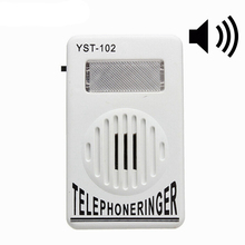 95db anel amplificador de celular, telefone extra alto, anel de telefone, assistente estroboscópico, luz principal, som