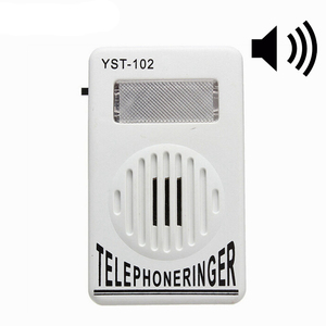Image 1 - AMPLIFICADOR DE anillo de teléfono con timbre Extra fuerte, 95dB, ayuda a la campana estroboscópica, sonido fijo