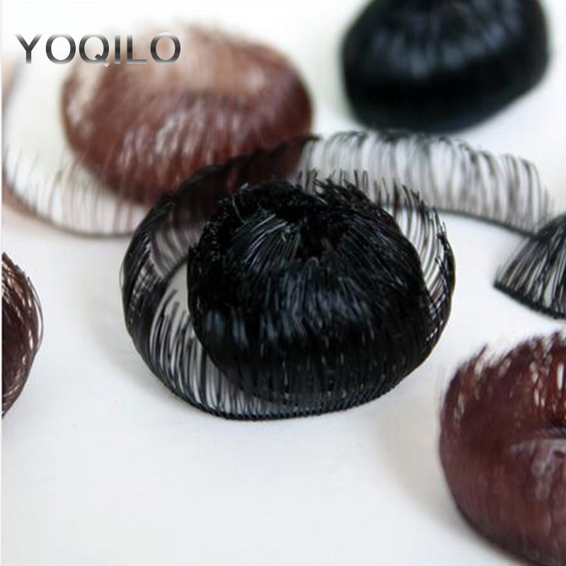 3PCS / LOT Մանրածախ տաք վաճառք Սև շագանակագույն վերածնված տիկնիկ թարթիչներով 1CM SD BJD DIY Աչքերի թարթիչներով տիկնիկների աքսեսուարներ