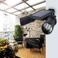 High Brightness Solar Power 14 LED PID Motion Sensor Wall Lamp Dual Head Spotlight Outdoor Adjustable Waterproof Wall Light