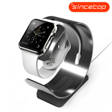 Exquisite Aluminum Bracket Charger Dock Charging Holder Stand Station for Apple Watch 3/2/1
