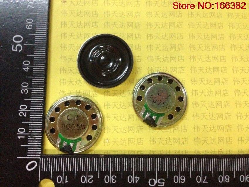 4pcs 8 Europe 0.5 Watt Speaker 0.5w 8r Building Walkie-talkie Toy Speaker Diameter 26mm Thickness 5mm Relieving Rheumatism Speakers Portable Speakers