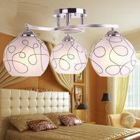 Pendant Lighting Bedroom Modern Minimalist LED Creative Art Children S Room Three Dining Room Ceiling Lamp