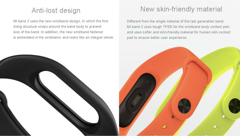 Xiaomi Mi Band 2 Fit Replacement Smart MI Band 2 Touchpad Screen Heart Rate Monitor Pedometer Wristband IP67 FitnessTracker 22
