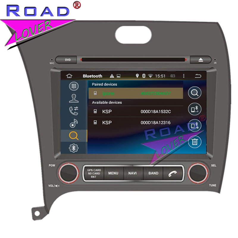 TOPNAVI Octa Core 4G+32GB Android 6.0 Car Media Center DVD Player Audio For KIA Cerato/K3/Forte 2013-/2016- LHD Stereo GPS Navi