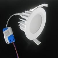 (1 יח'\חבילה) הגעה חדשה 15 W עמיד למים IP65 NoDimmable led downlight עמעום אור ספוט led הוביל משלוח חינם מנורת תקרת SMD15W