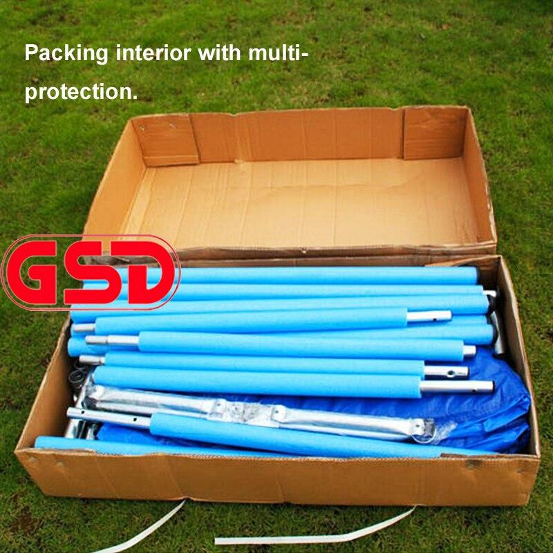 GSD 10 Proljetni trampolin sa sigurnosnim mrežama i 3-stupanjskim - Fitness i bodybuilding - Foto 6