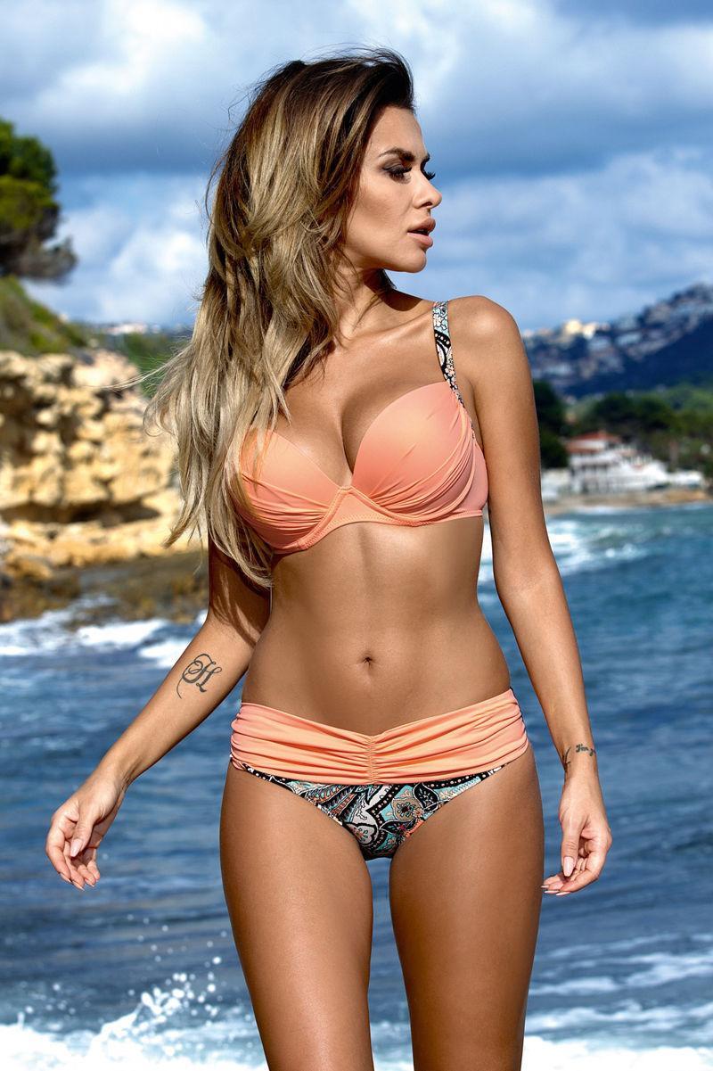 573711b3f4758 Padded Wrap Bikinis Sets Brazilian Bikini Swimwear Black Swimsuits 2017  Latest Push Up Biquinis Swimming Suits Bathing Suits USD 12.88 piece