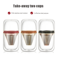 Portable travel coffee pot child heart pot American multi function coffee pot teapot