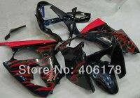 حار المبيعات ، ل كاوازاكي نينجا zx6r 2000-2002-00-02 اللهب الصقور سباق دراجة نارية هدية للبيع (حقن)