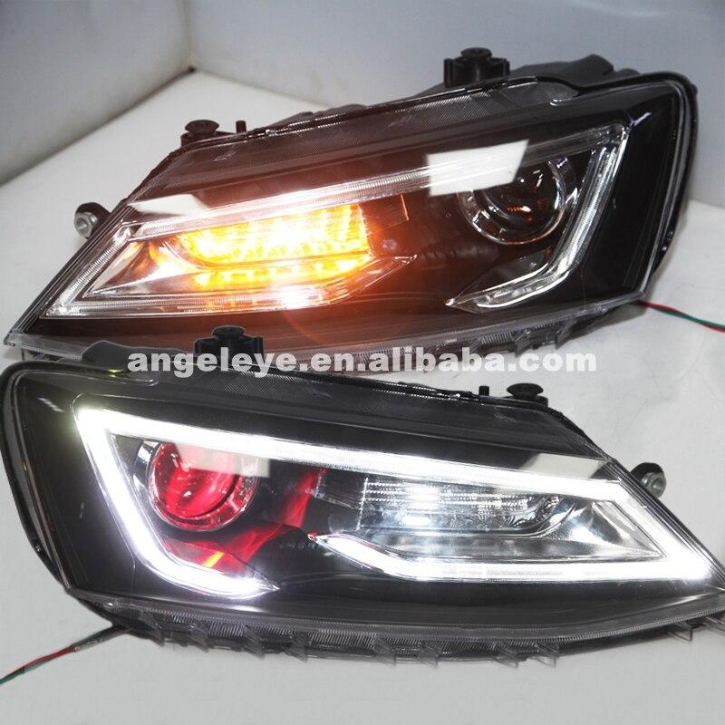 Pour VW nouvelle Jetta MK6/Sagitar phare LED lampe avant 2011-2016 année YZ Type