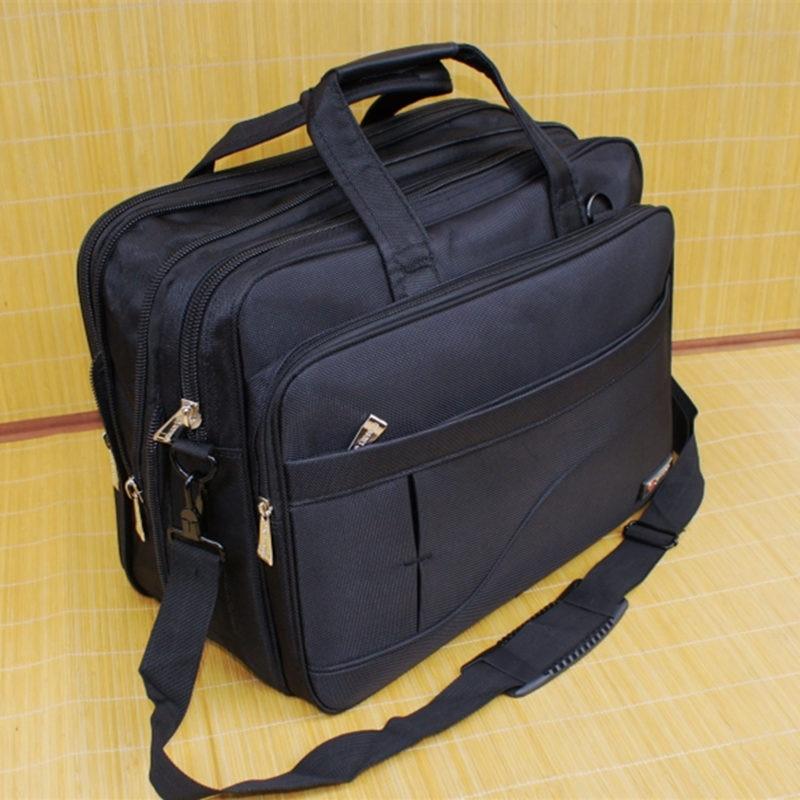 Expandable Business Notebook Briefcase 16 17 19 Inch Laptop Bag Shoulder Bag