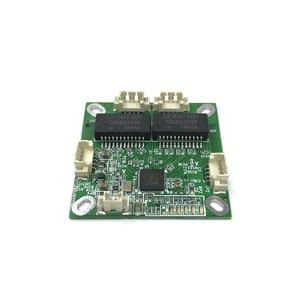 Image 2 - Mini PCB anahtar modülü PCB OEM modülü mini size3Ports Ağ Anahtarları PCB kartı mini ethernet anahtar modülü 10/100 Mbps OEM/ ODM