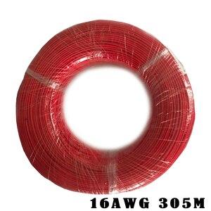 Image 5 - UL3122 16AWG Chống Cháy Cao Nhiệt Độ Dây Silicone Bện Cáp Sợi Thủy Tinh Silicone Mạ Thiếc Đồng Mềm Dây 50M