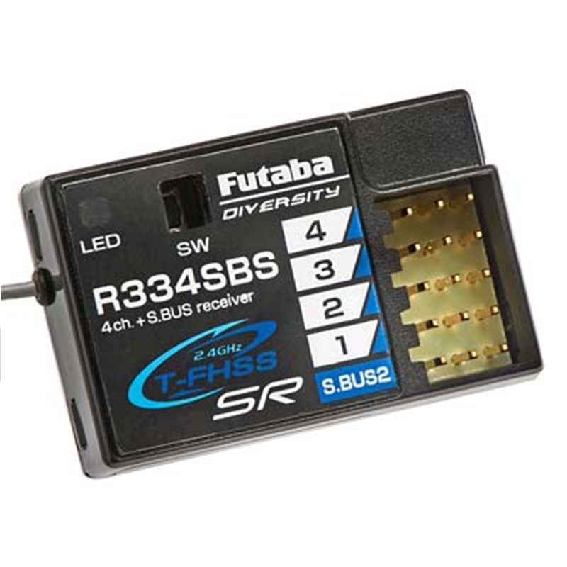 Tarot-RC Original Futaba R334SBS S.Bus2 T-FHSS SR HV Receiver for car