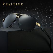 New Brand design Men's Alloy HD Polarized Sunglasses Men Mirror Sun Glasses Square Goggle Eyewear Accessories For Men Female
