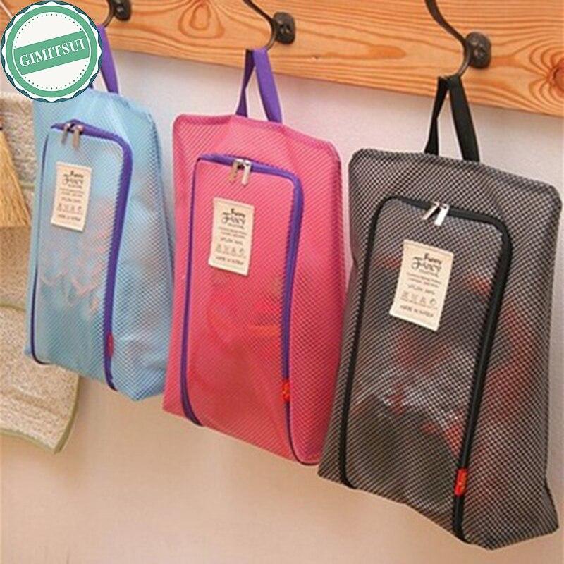 Waterproof Portable Shoe Bag Organizer Travel Tote Toiletries Laundry Pouch Storage Bag Home Travel Storage Case Storage Bags